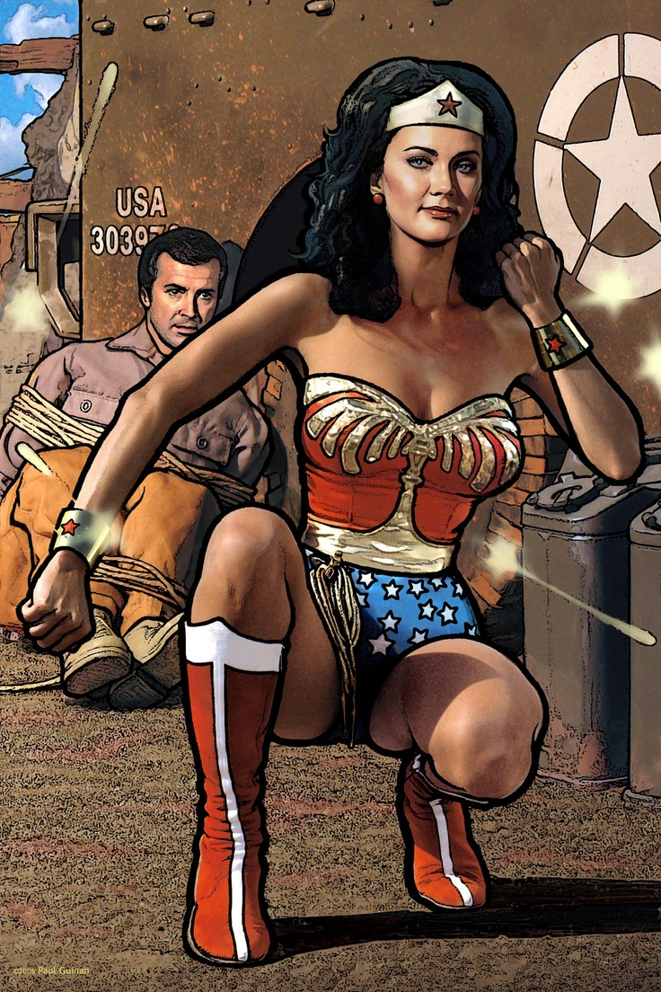 Lynda carter wonder woman porn