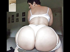 Photos of big voluptuous ass with tight mature pussy