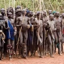 Naked tribes of africa