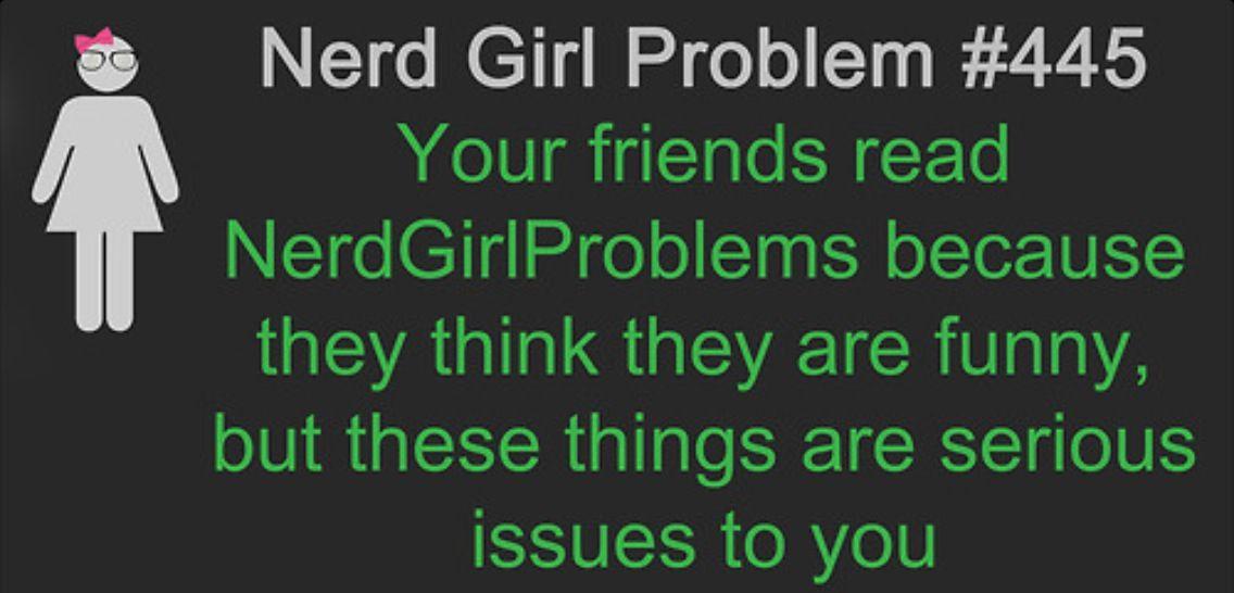 Funny nerd girl memes