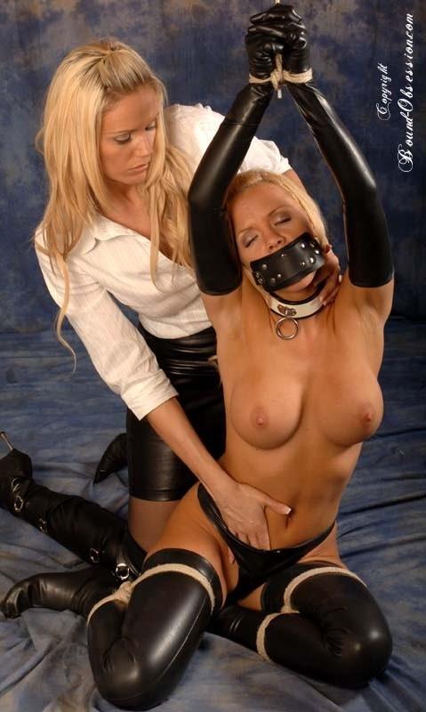 Lucy zara in bondage