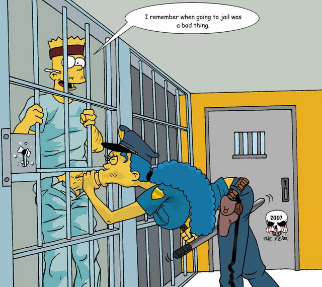 The simpsons porn comics bart x marge