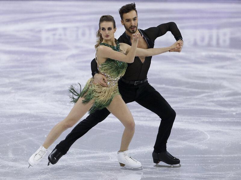 Ice skating costume malfunction