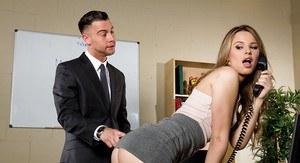 Busty blonde porn star