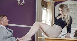 Blonde pornstar double penetration