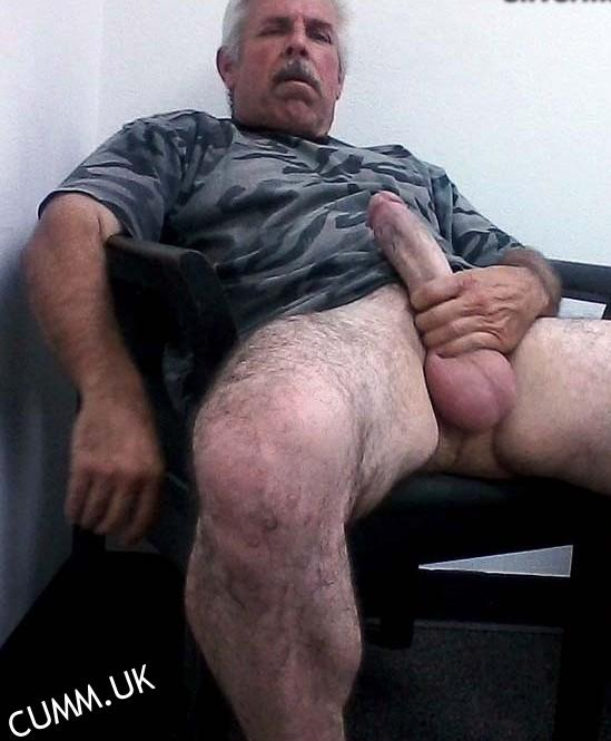 Old men with huge cock