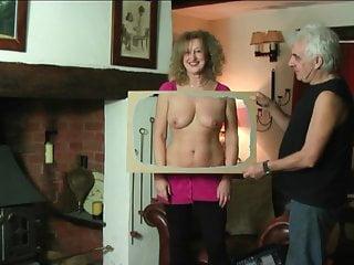 Naked magician scarf vagina
