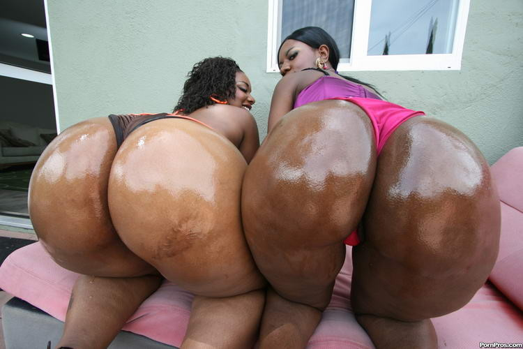 Nasty big booty black girls