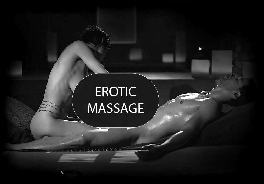 Erotic body massage for men