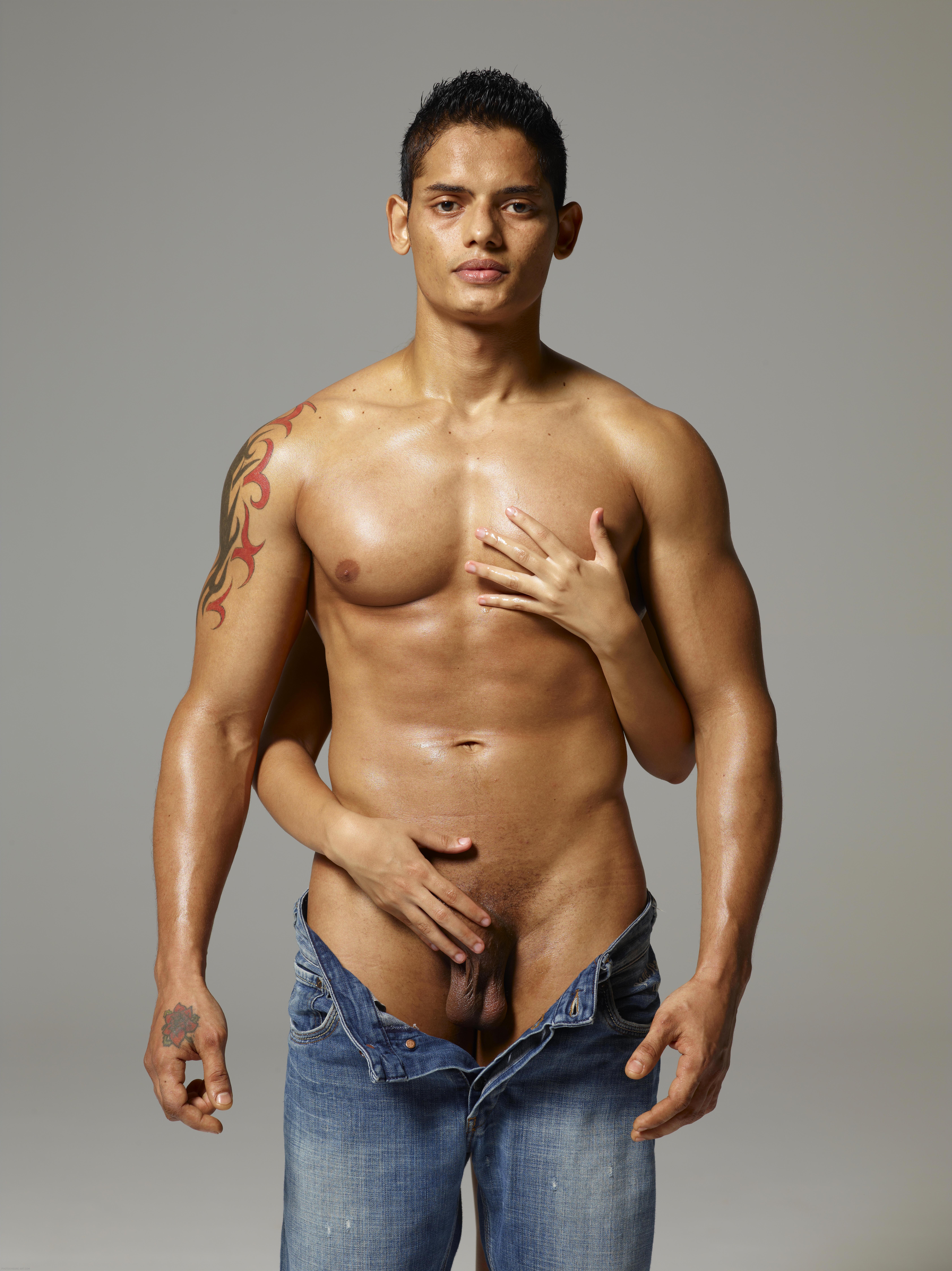 Man hegre brazilian macho