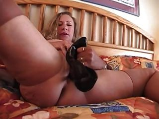 Mature stockings and high heels anal