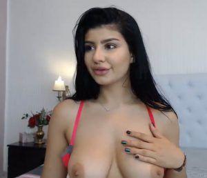 Big huge tits tight shirt