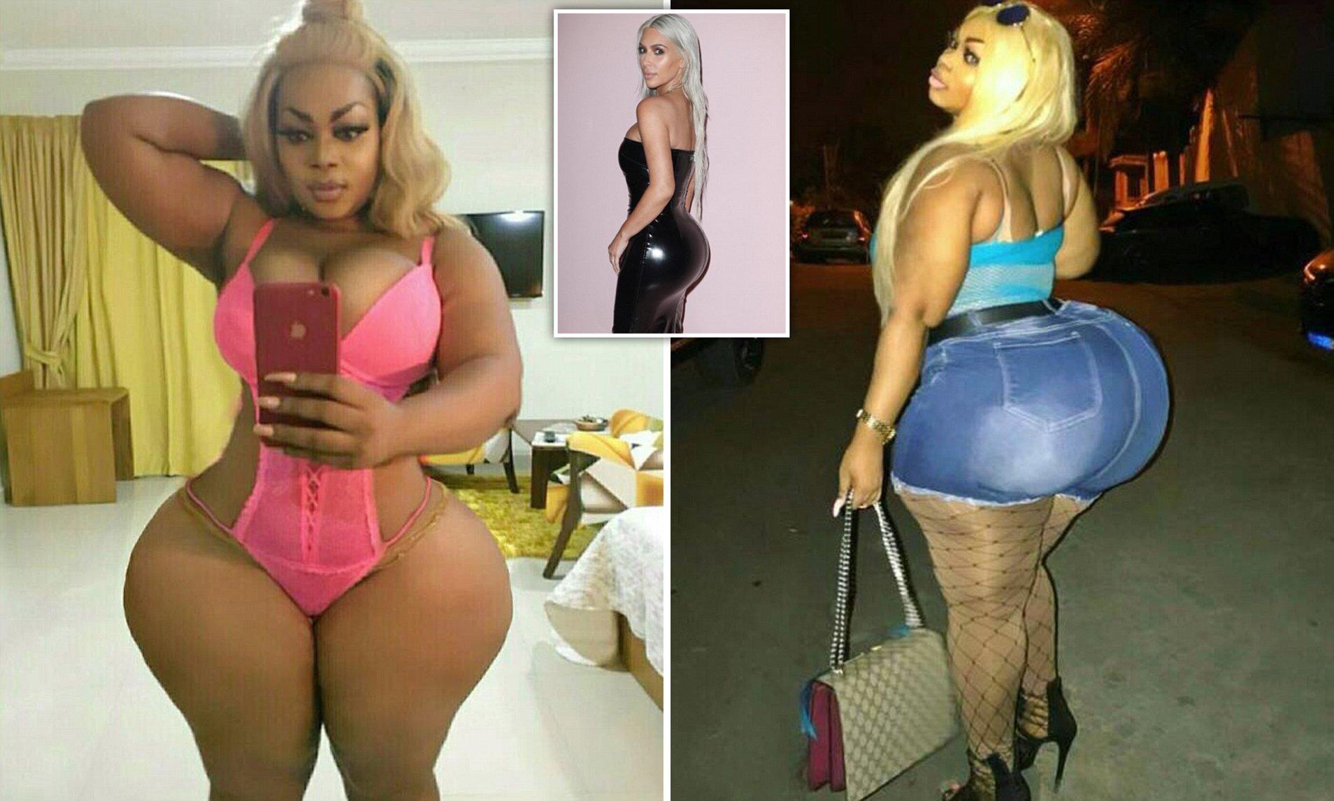 Wide hips extrem african