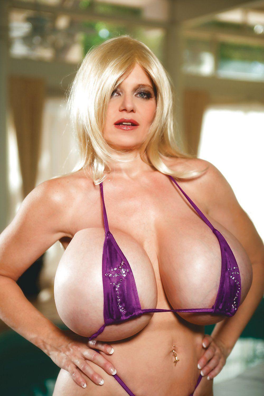 Big fake plastic boobs