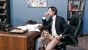 Hot secretary tight skirt ass