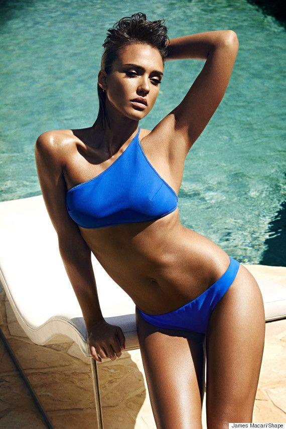 Jessica alba bikini cuerpo completo