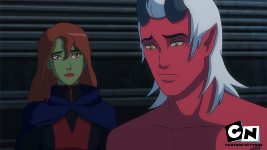Young justice miss martian comic