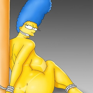 Marge simpsons nackt in stockings