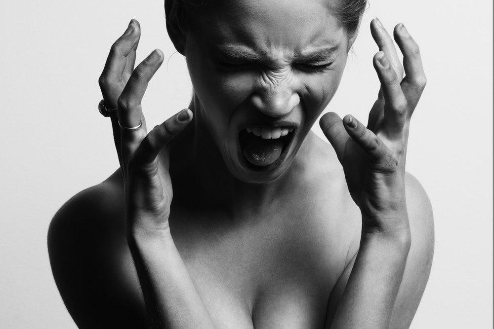 Things adult throwing tantrum
