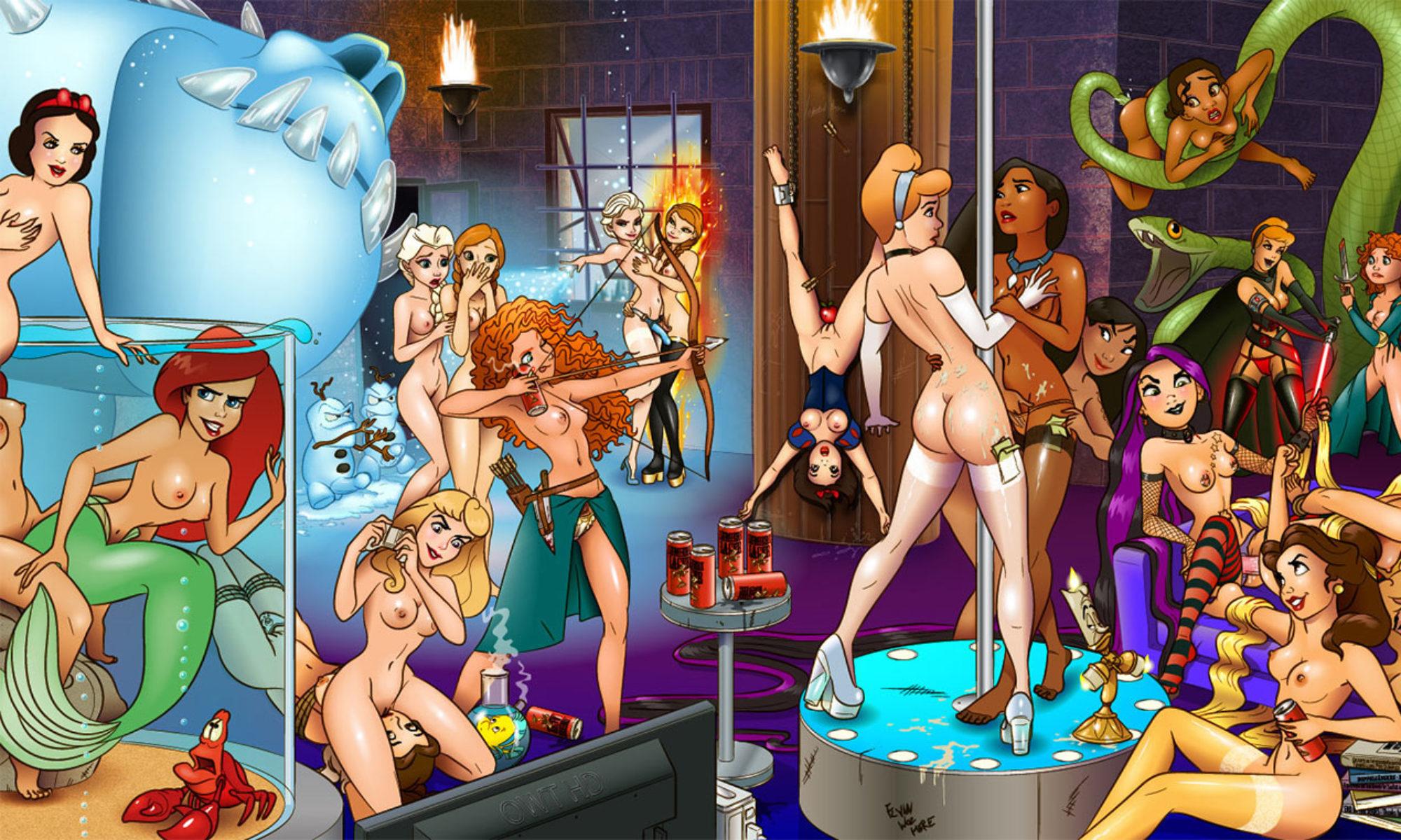 Disney and cartoon network porn