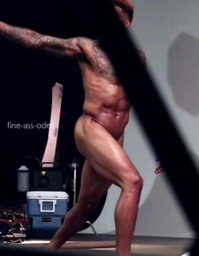 David beckham naked butt