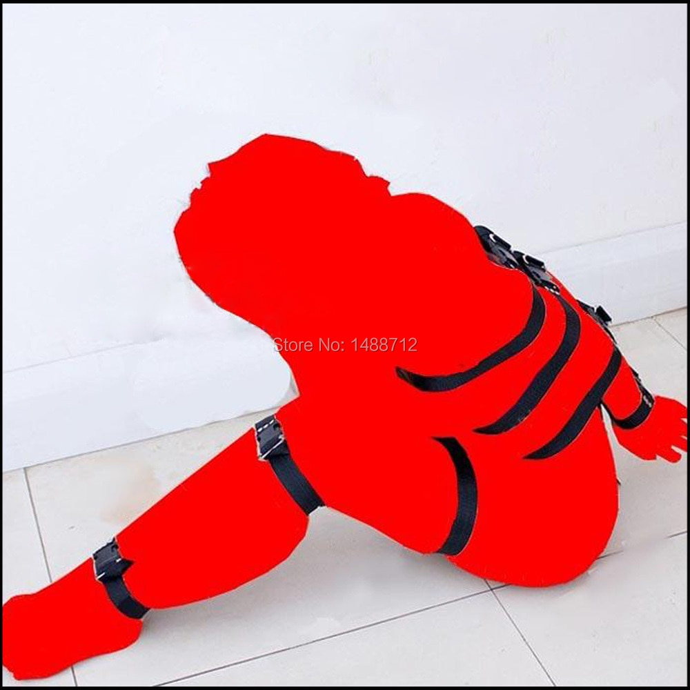 Full body wrap bondage