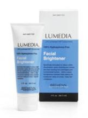 Lumedia facial brightener sample