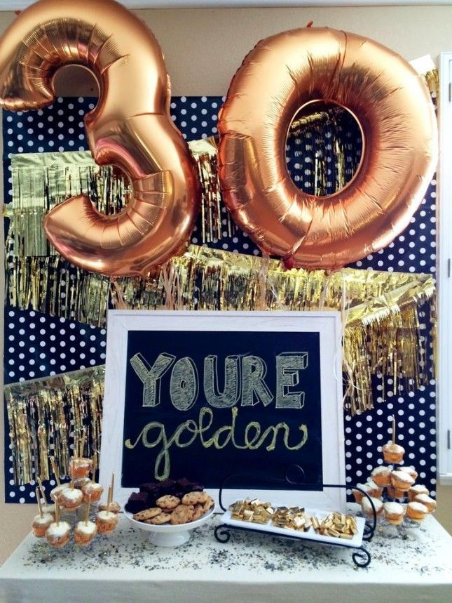 Adult birthday party plan