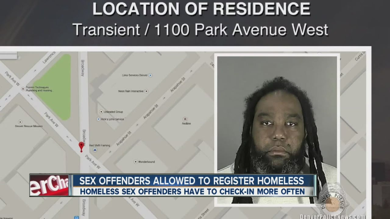 Denver registered sex offenders