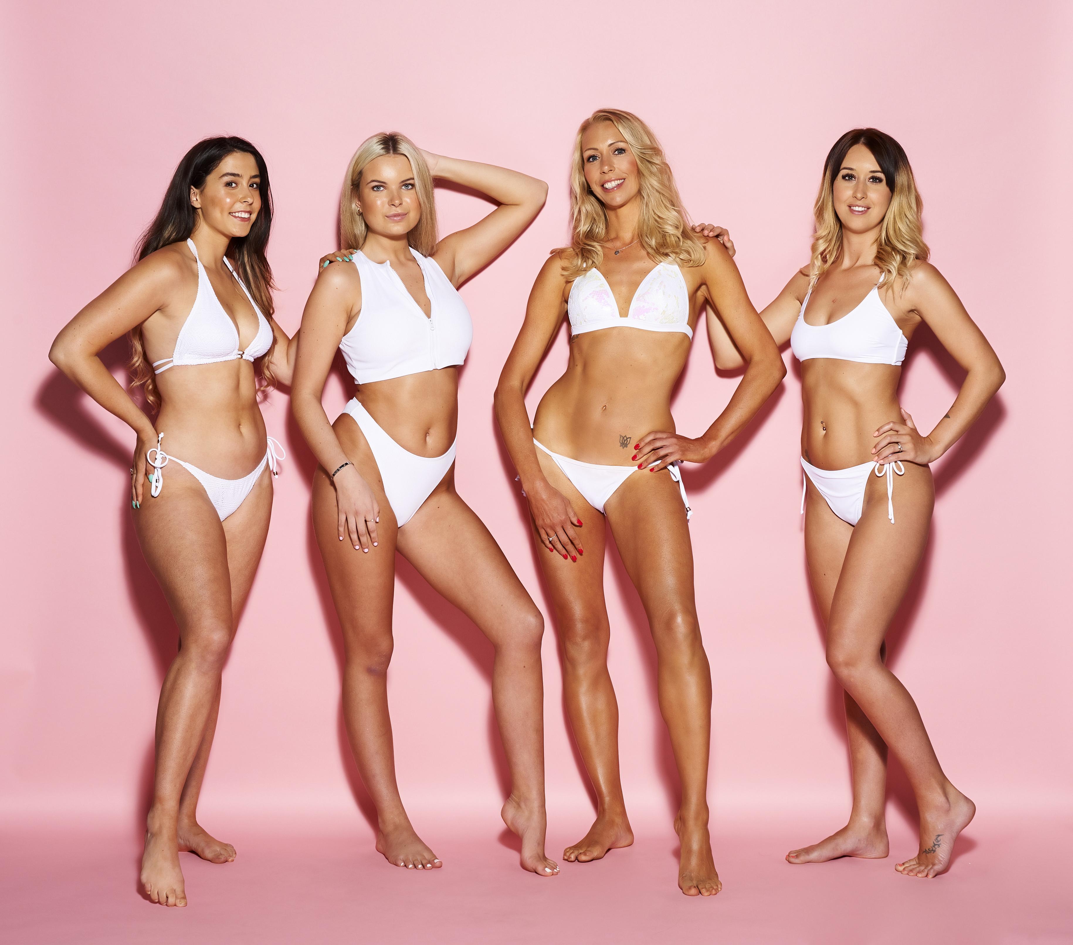 Beach bikini community tanning type