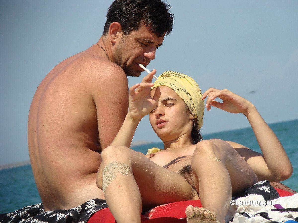 Beach girls nude hairy pussy