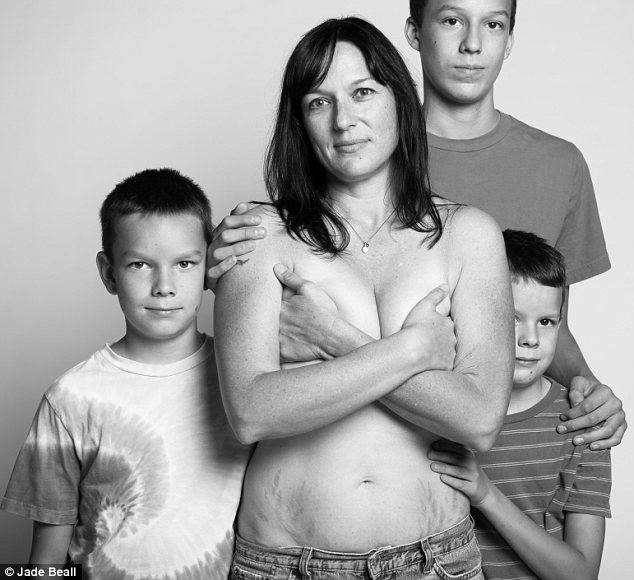 Son with moms nudist