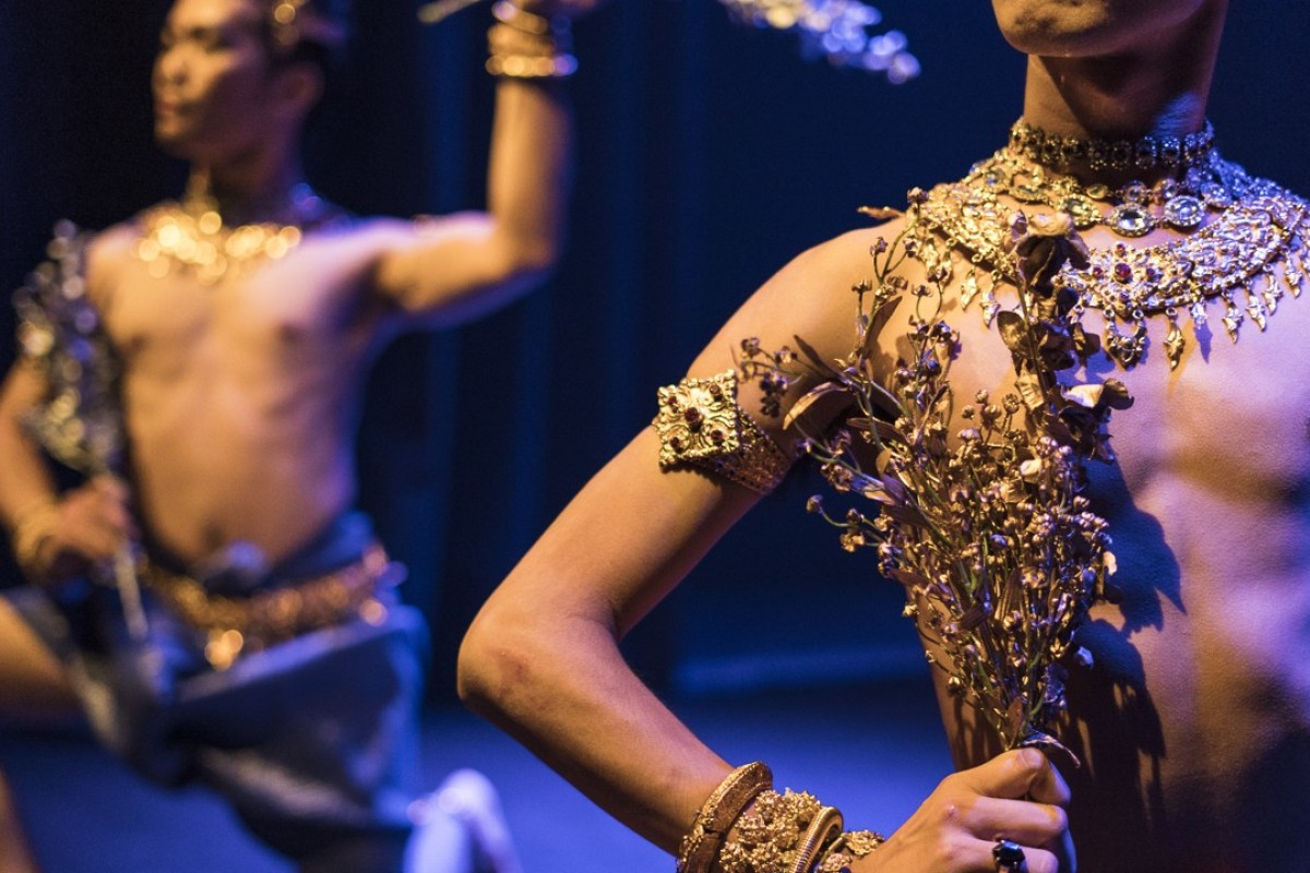Cambodia khmer apsara nude