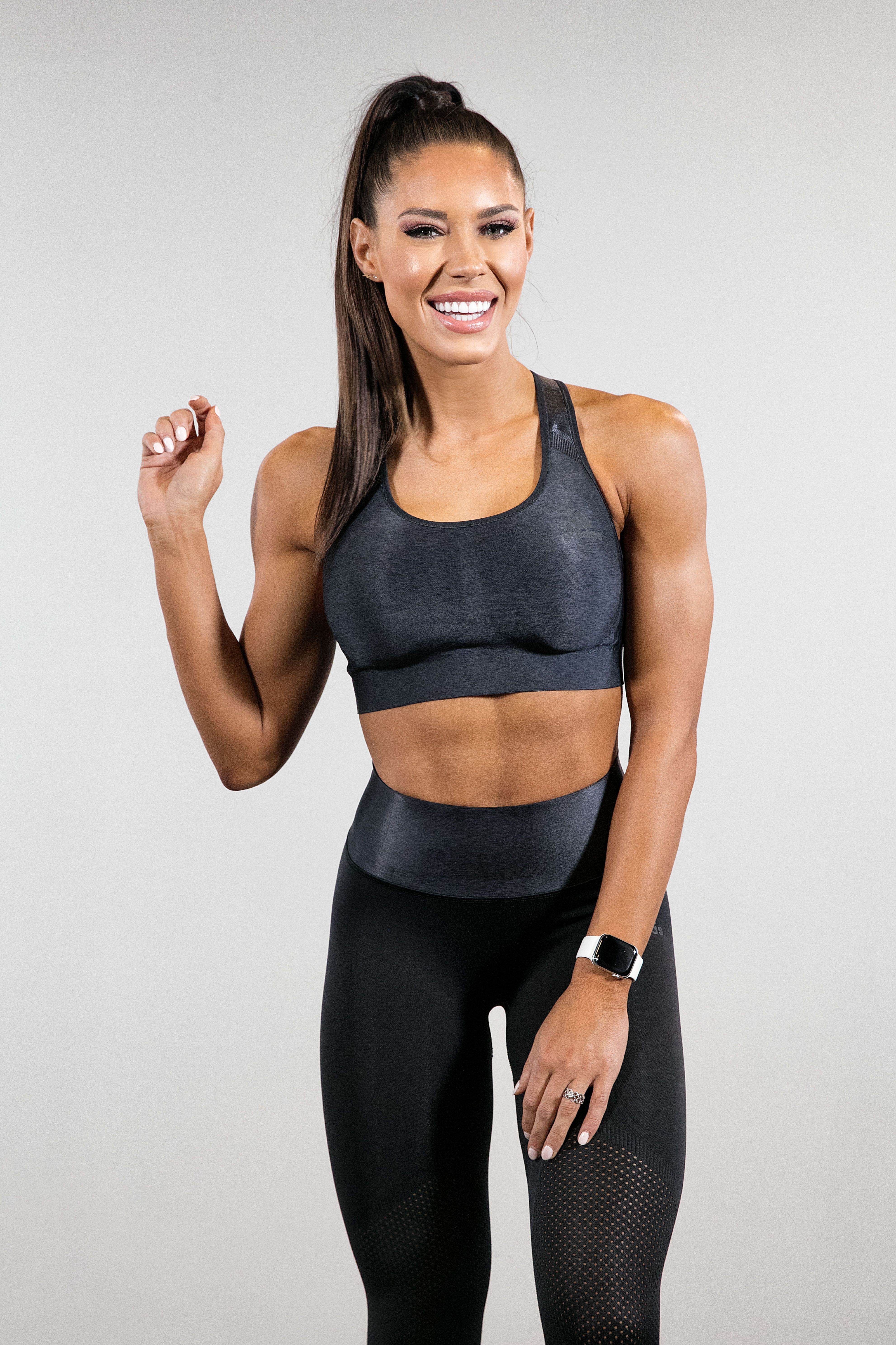 Sexy women with skinny arms