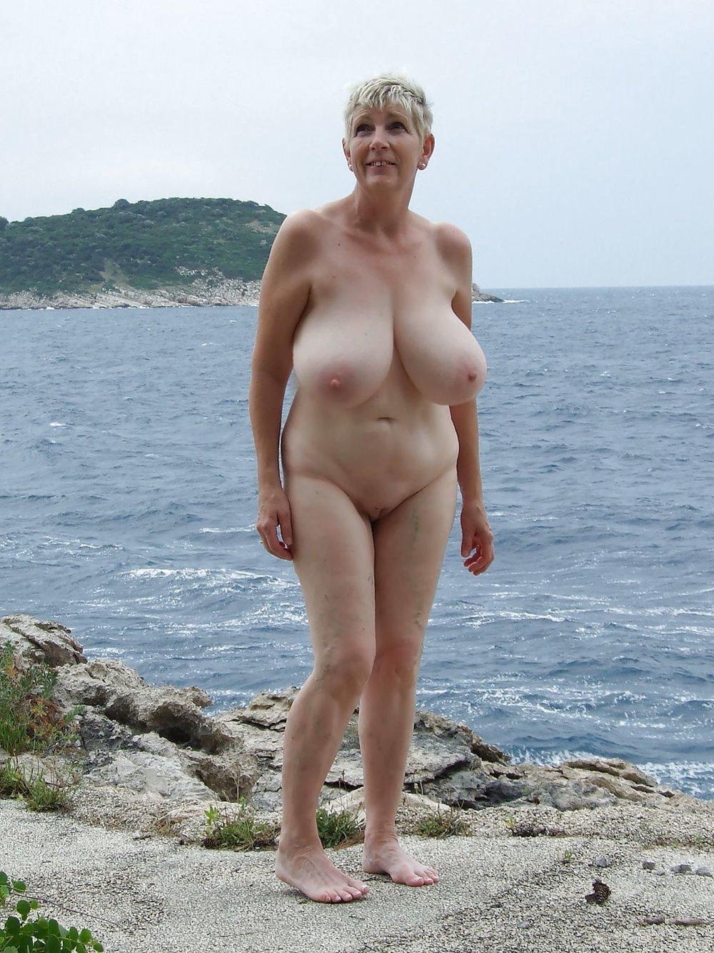 Nudist mature granny nude