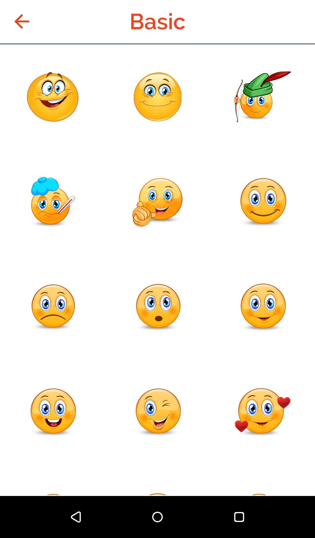 Adult emoicons free messenger