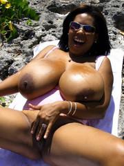 Mzansi big black boobs