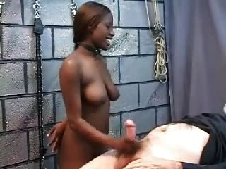 Girl sex with old black man