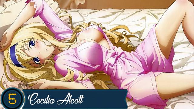 Anime girl blonde nude