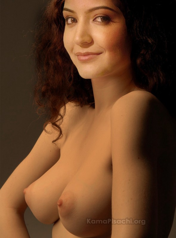 Anushka on beach naked