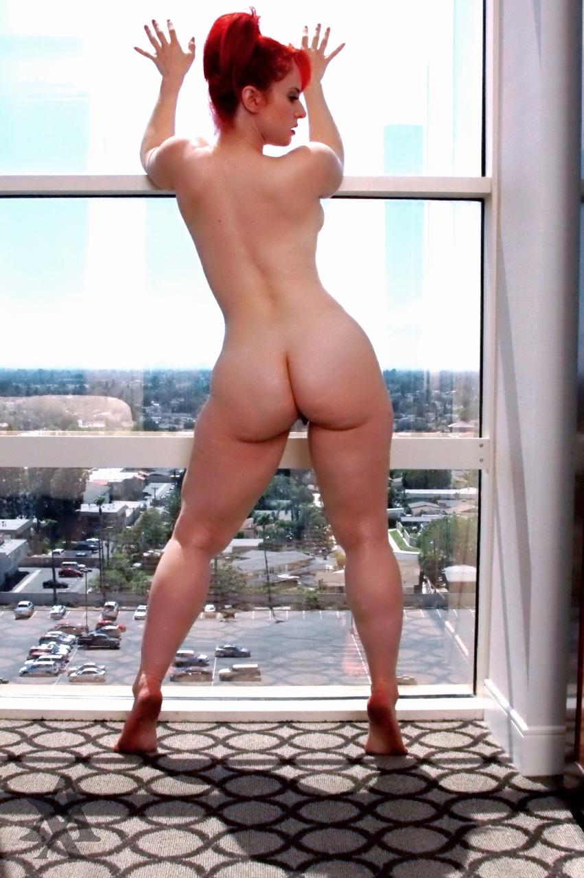 White curvy girl naked