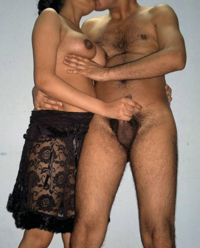Indian couple nude image