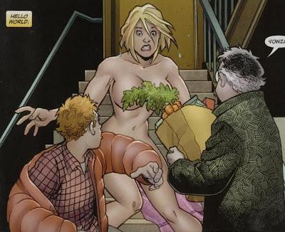 Power girl nude comics