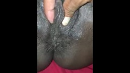 Crack heads spreading pussy open
