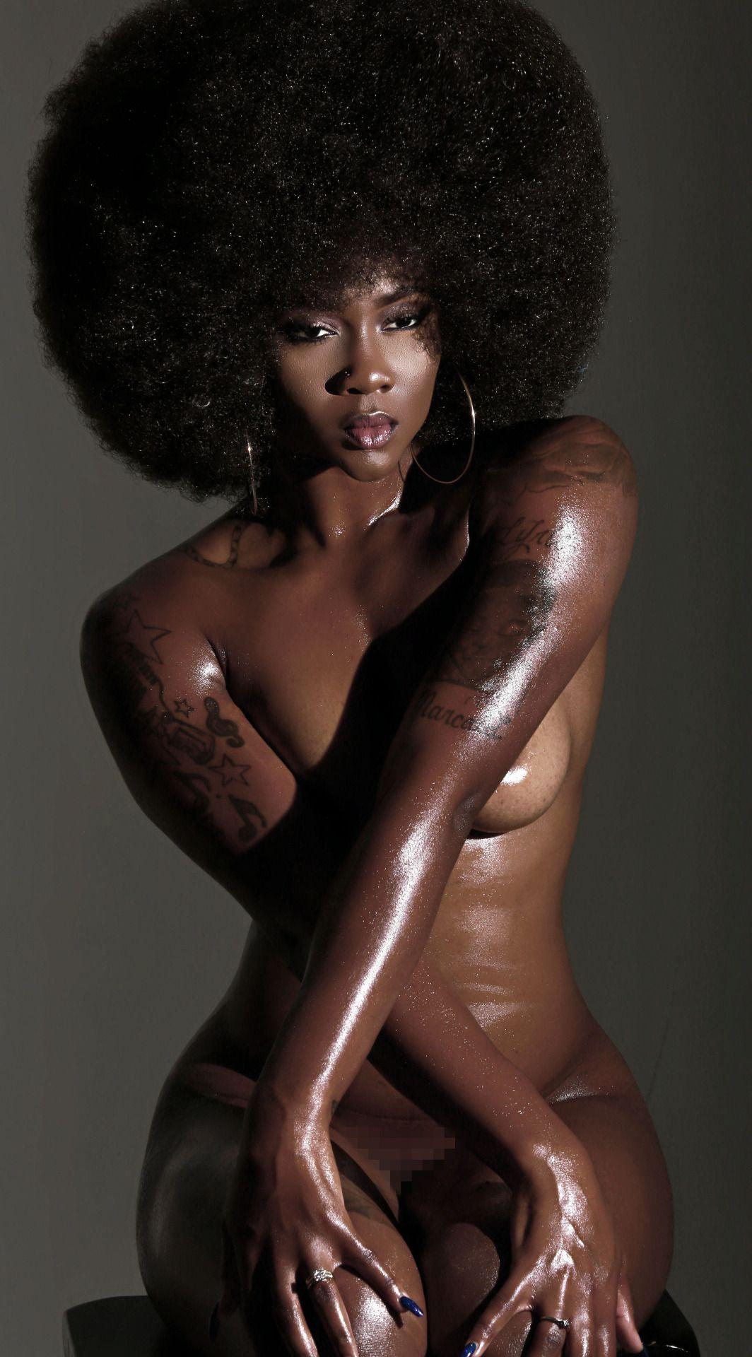 Hot sexy black ebony babe