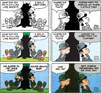 Whos the beetle bailey comic strip about