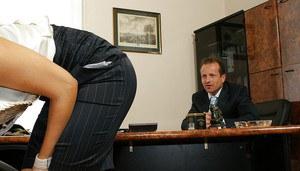 French porn blonde secretary