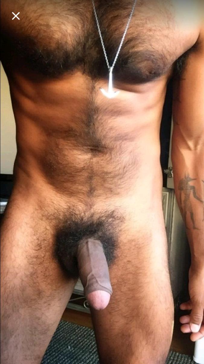 Big hairy full dick black