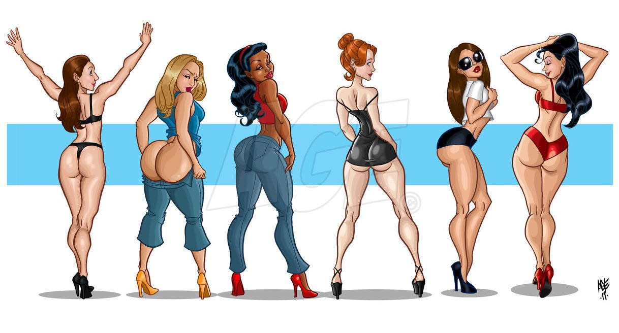 Girls big booty toon gallery