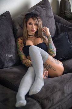 Yoga girls sexy naked tatoots